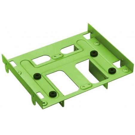 HDD monteringssæt 2,5/3,5 til 5,25 drev, grøn