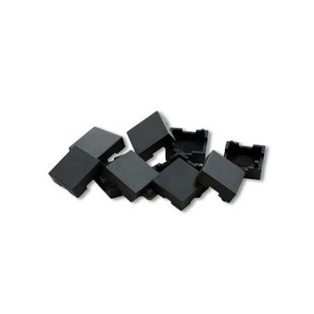 Tillbehör: Lösa spärr-tangenter till X-Keys tangentbord, svart, 10 st.