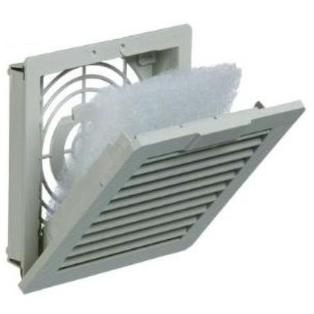 Dator chassi, utblåsfilter, EMC filter til intern køler. EFAE200R5 EMC exhaust filter 126 x 126, IP54