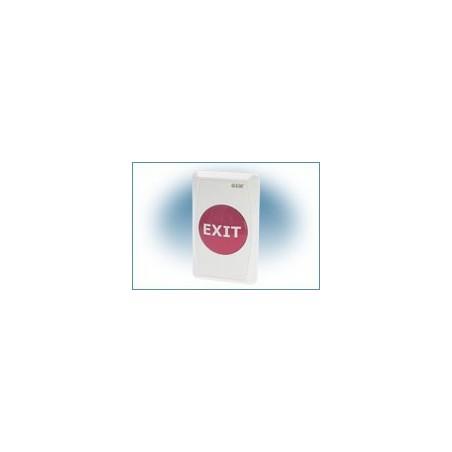 Restparti: EXIT-knappen med plastill front