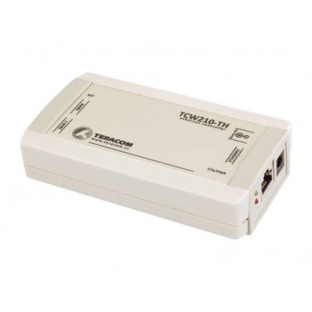Datalogger til temperatur- og fugt via Internet/LAN, føler-interface RS485 eller 1-wire interface