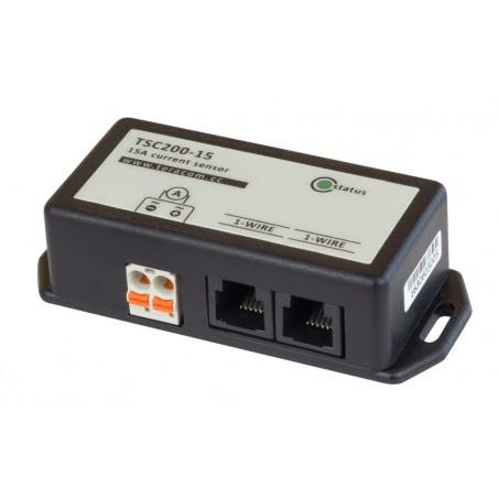 1-wire strømmåler 0,3 til 15 Amp, AC og DC strøm, 10 bit opløsning, kaskadekobling