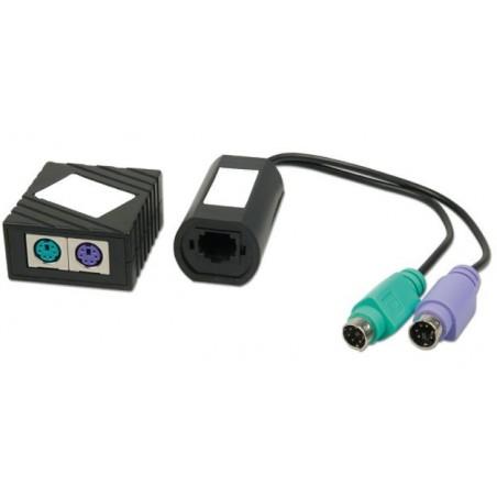 PS/2 tangentbord och mus förlängare via UTP kabel