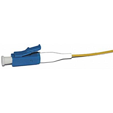 LC Single flätilla fiberkabel 0,5 meter