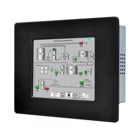 """12"""" IP65 Panel mount LCD touch monitor, tillransflektilliv, VGA"""
