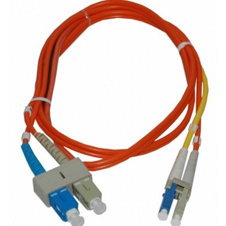 Singlemode til multimode konverterkabel, 1,0 m, SC/SC