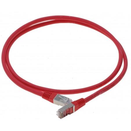 Cat. 6 netværkskabel, RJ45, STP, AWG28, rød, 10m