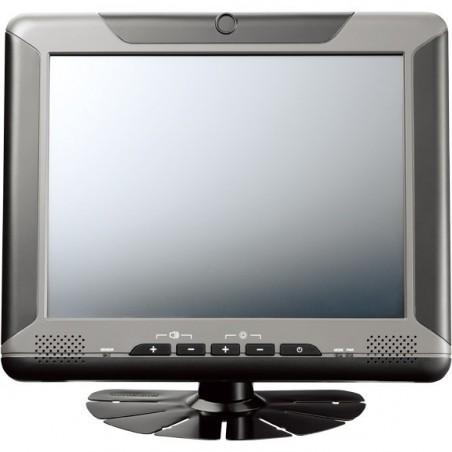 "8"" TFT LCD USB touchscreen monitor med VGA input, velegnet til køretøjer, læsbar i sollys, -20 til +60°"