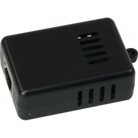 Temperatur/fugt føler med 1 x RJ45 socket