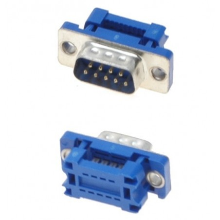 9 pin D-SUB DB9 han til IDC fladkabel adapter/ samlekontakt