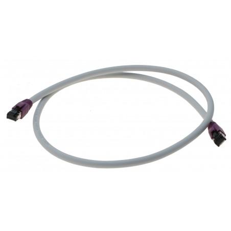 Cat. 8 netværkskabel, RJ45, S/FTP - PiMF, LSZH, 25/40G Base-T, 2000 MHz, grå, 7,0m