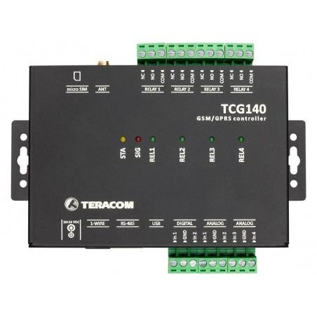 GSM-GPRS fjärrkontroll I/O modul, datalogger, DI, RO, MODBUS