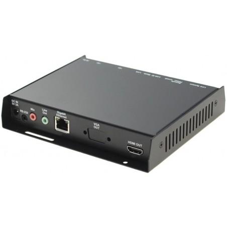 KVM Extender - mottagare - HDMI, USB, över nätvärket