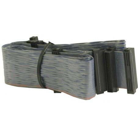 Fladkabel, Mini DB68 hane, 6 kontakt, 1,20 m, parsnoetill