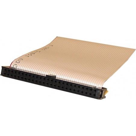 SCSI flatillkabel IDC50 kvinnlig, 5 kontakter, 1,20 m, platilltilla