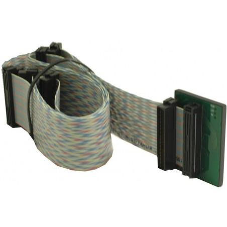 SCSI fladkabel Mini DB68 hane, 6 kontakt, 1,25 m, parsnoetill