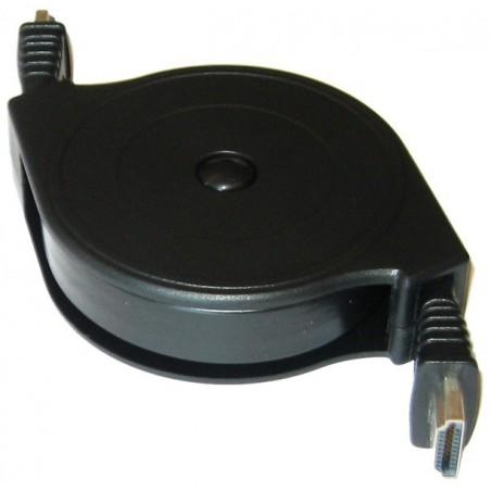 HDMI 1.3 kabel. HDMI hane - HDMI hane 0,1 ~ 1,5 meter (spole)