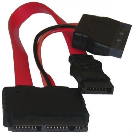 Micro SATA till SATA-kabel