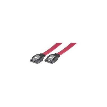 SATA-kabel med låsmekanism, längd om 75 cm