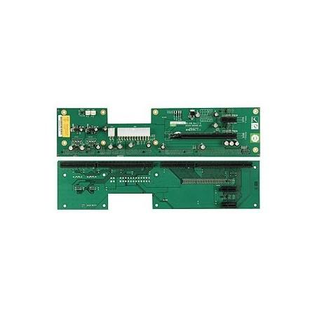 Busskort med 4x PCIE och 1x PICMG 1.3