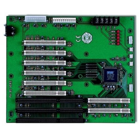 Busskort med 6 PCI , 2 PICMG , en ISA