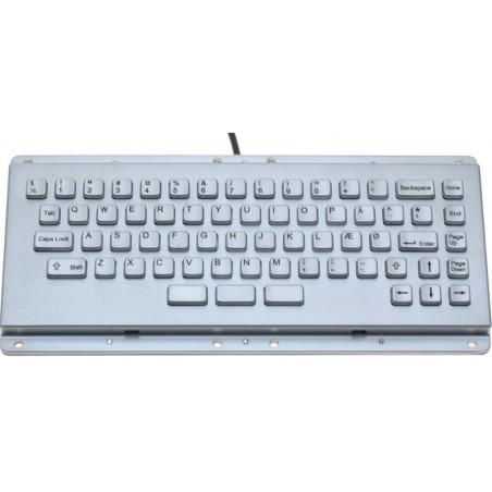 Vatilltillentillätill industriell tangentbord i metillall för montillering och panel montage