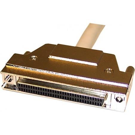 Wide SCSI-förlängningskabel, ½ meter. Mini DB68 hane - mini DB68 hon