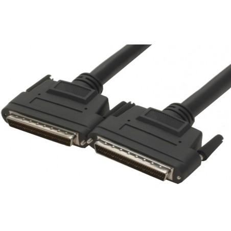 Wide SCSI LVD Kabel, 10 meter. Mini DB68 hane - Mini DB68 hane