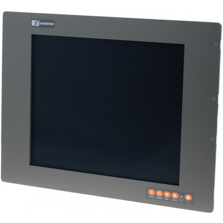 "19"" IP65 Panel mountill LCD touch monitillor, VGA, DVI"