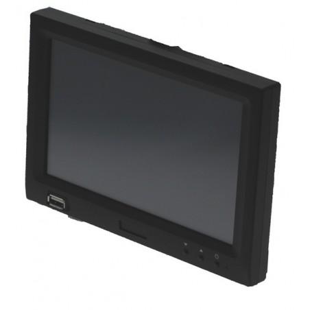 """7"""" LCD touch monitillor m/USB grafikkort indbyggetill"""