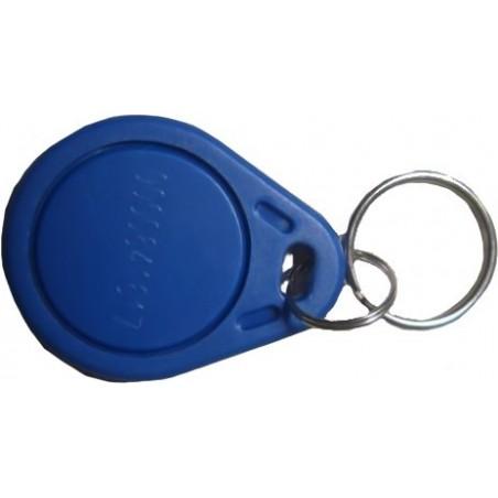 RFID-etilliketilltill utillformatill som nyckelring i blåtilltill