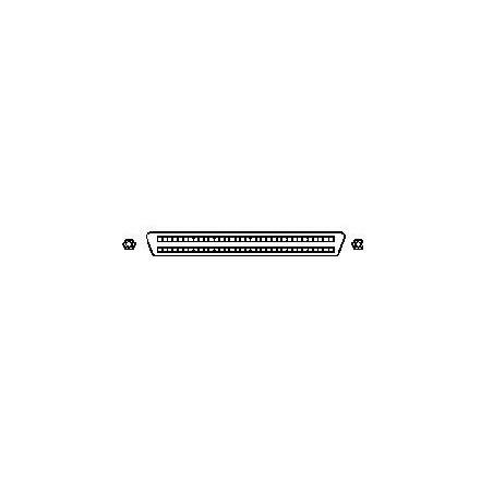SCSI tillerminatillor inre, aktiva mini DB68 hon
