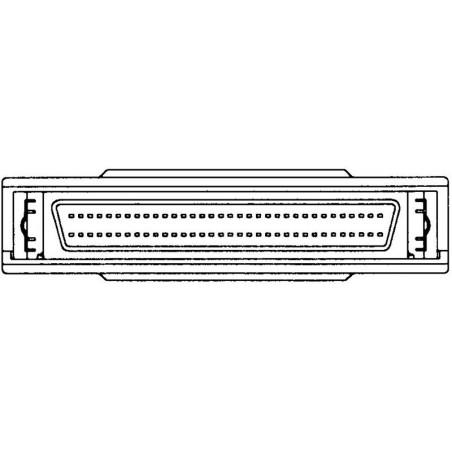SCSI-tillerminatillor, interna Mini DB68 hanetill-kvinnligtill, recension