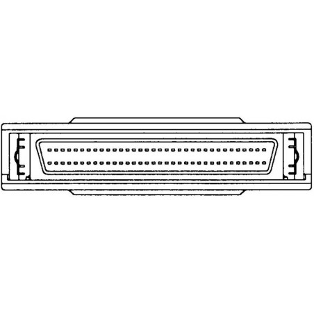 Extern SCSI-avslutillare Mini, DB68 hane-hona, recension