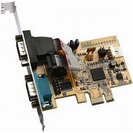 2 x RS232 port PCI Express