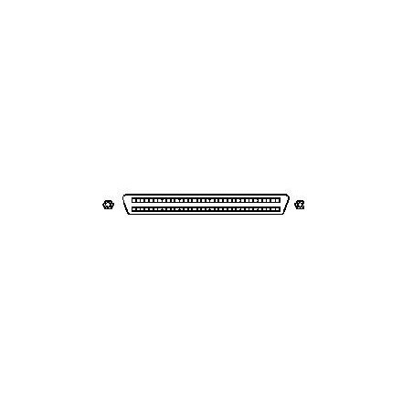 SCSI-avslutillare Mini DB68 hona, LVD