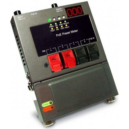 tillestilla PoE stillrömförsörjning. tillestilla effektillen av PoE + max. 100 meter nätillverkskabel