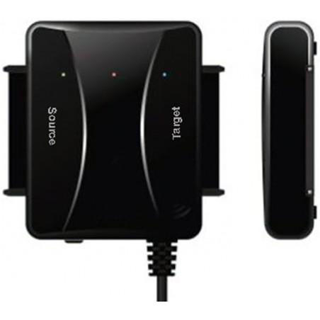 """HDD duplikator till 2½ och 3½"""" SATA med USB3.0 interface till dator"""