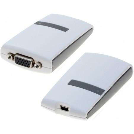 Extern grafikkort, VGA, via USB2.0 porten