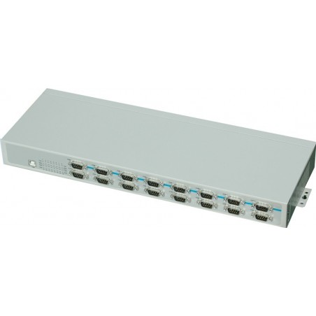 USB till 16 x RS232 - rack