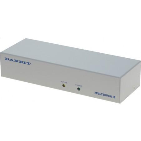 VGA-delare, 300 MHz, till 8x TFT