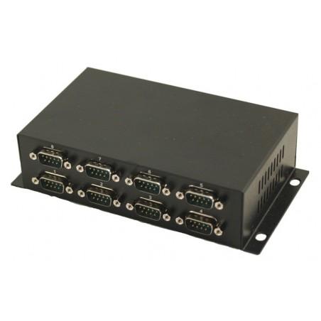 USB till 8 x S232 omvandlare - USB kabel medföljer