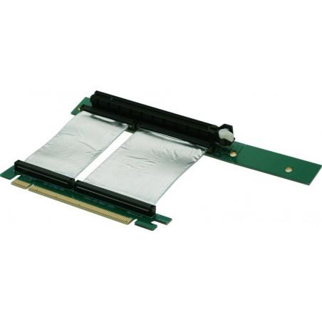 Expansionskortetill till PCI Express 16x m. flatillkabel