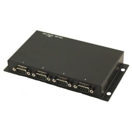 USB till 4 x RS232 - USB kabel medfølger