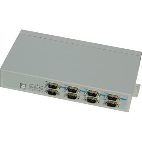 USB till 8 x RS232 RS422 RS485 porte