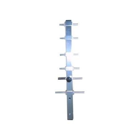 7 dBi 2,4GHz Yagi antenn, N hona, mast-fäste