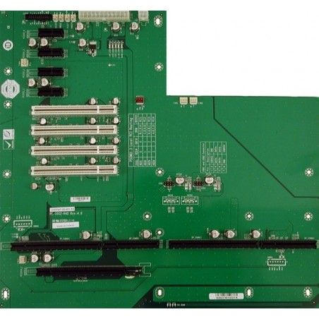 Busskort med fyra PCI och fem PCI Express