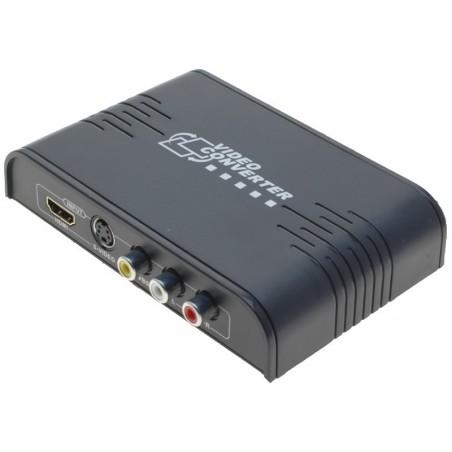 Omvandlare från Composite / S-VHS till HDMI