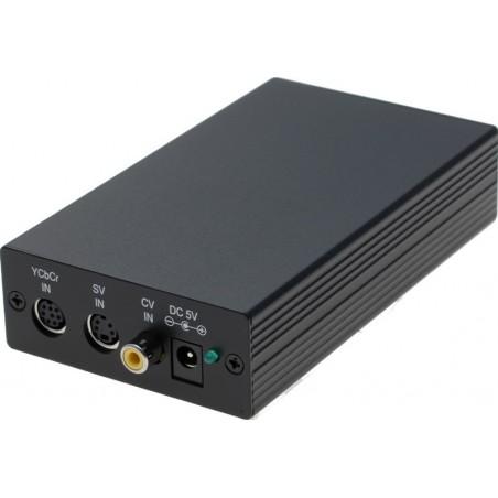 RGB till VGA-adapter. Kompositill / komponentill till VGA-skärm - förlänga livslängden på äldre RGB-utillrustillning