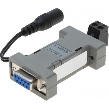 Isolerade RS232 - RS485 -adapter med upptillisk isolering - kan levereras via RS232 eller extern stillrömförsörjning